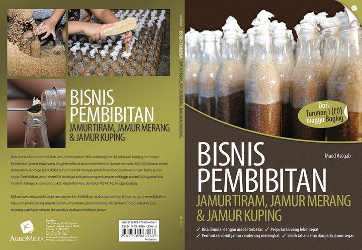 buku budidaya jamur tiram terbitan IPB Press